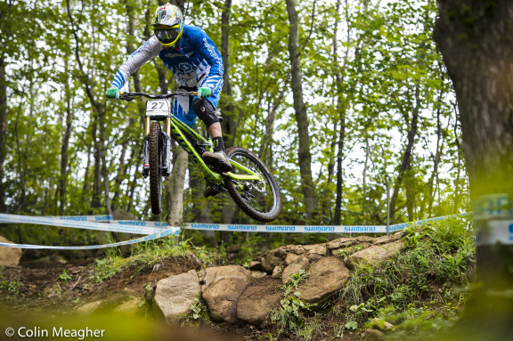 DH qualifying race
