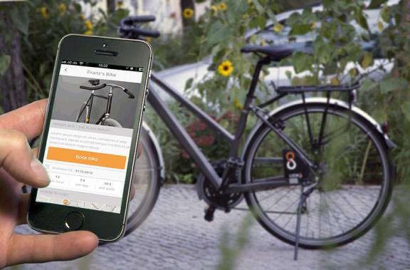App screenshot Rent foreground with bike bg net