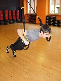 trx push up gamba alzata 1