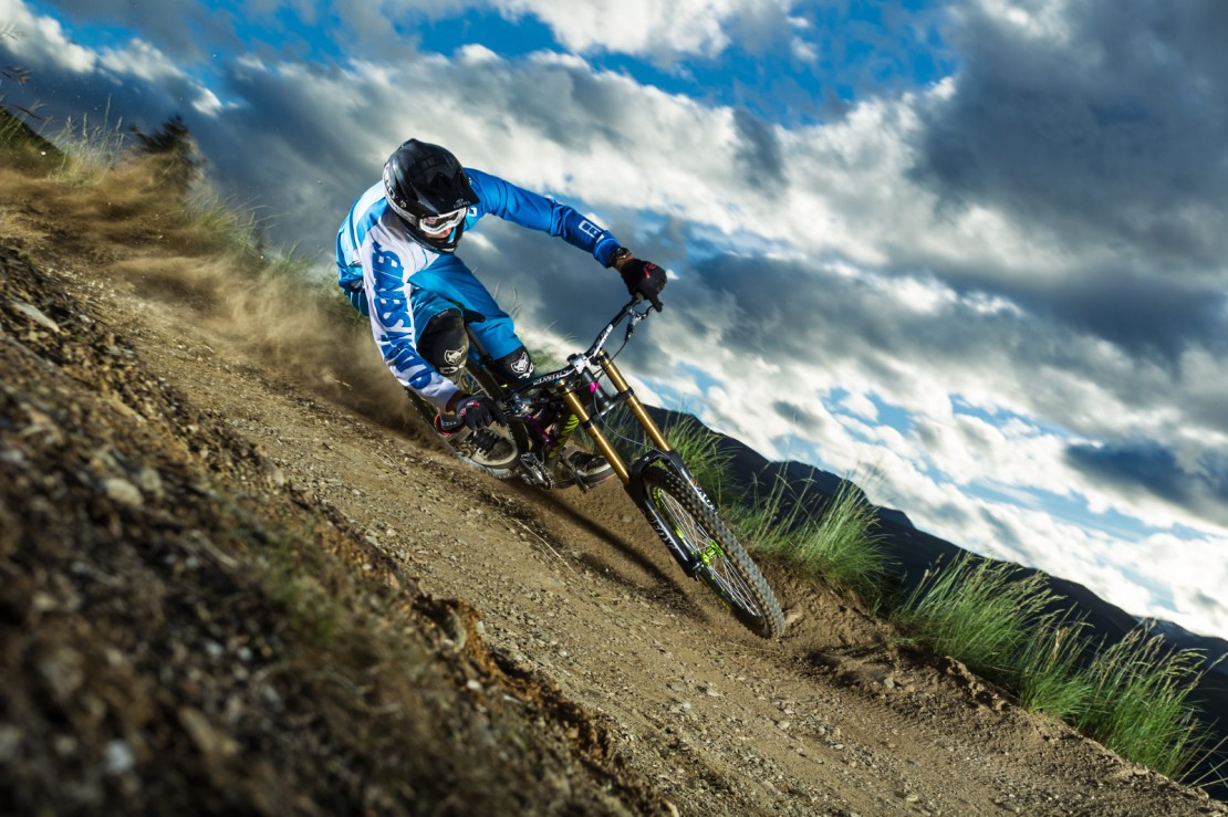 Max Bender, Livigno Downhill Track