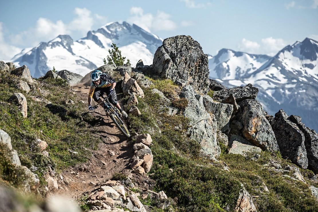 Fabien Barel, Enduro World Serie Stop in Whistler, Top of the World