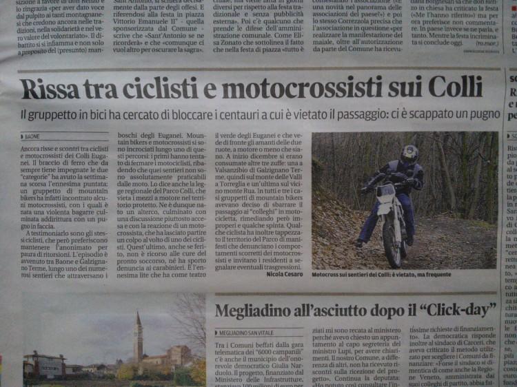 Mattino di Padova – pagina 39 – Domenica 19/01/14