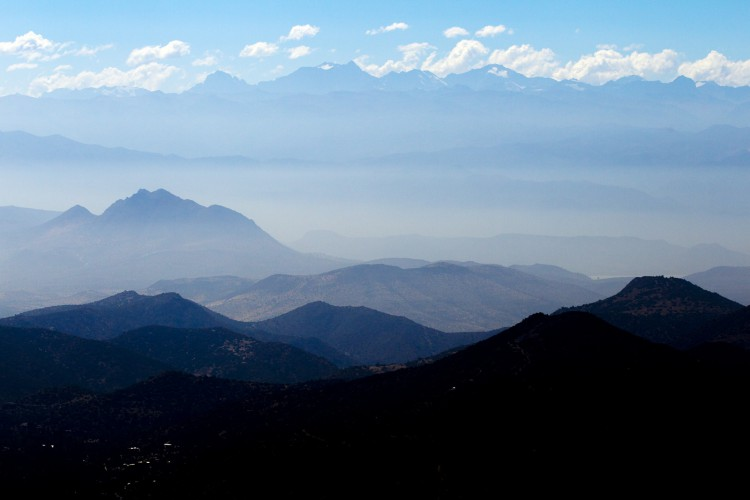 Day 3 of the Andes Pacifico near Santiago.