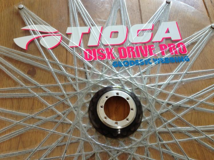La seconda versione delle Tioga Disk Drive Pro, per assemblaggi a 32 fori e con struttura della cavo in kevlar differente