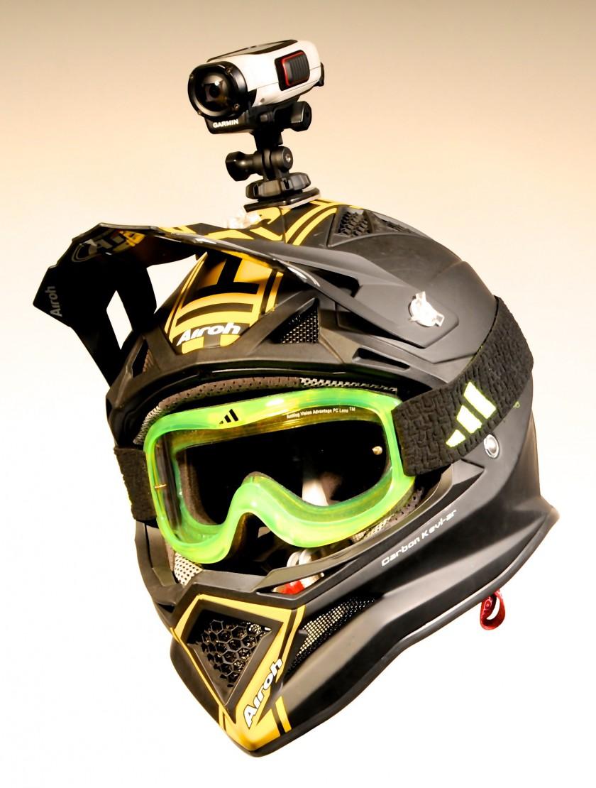 casco AirohGarmin360