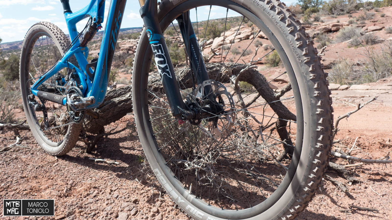 First ride: new Ibis carbon wheels   MTB-MAG.COM