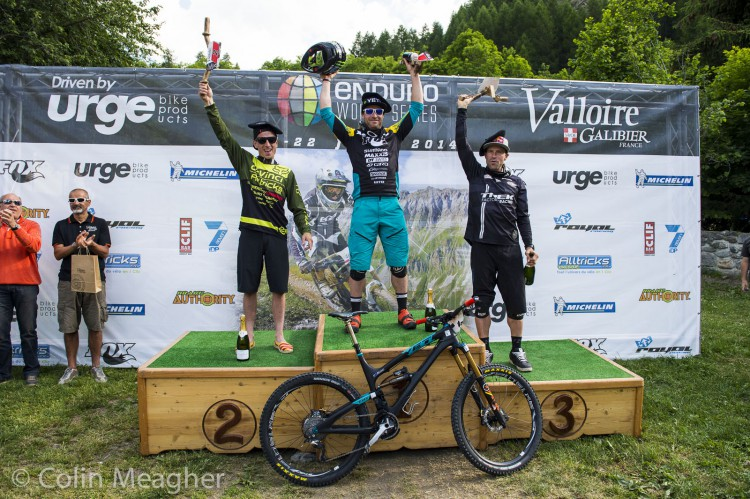 Day two of the Valloire EWS race