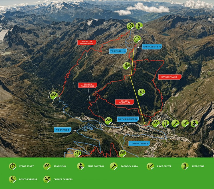 Enduro World Series in La Thuile Italy MTBMAGCOM