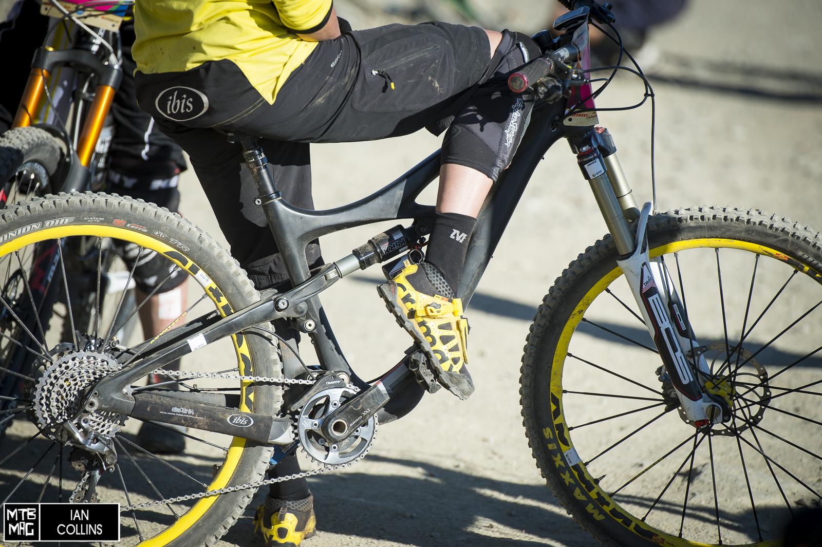 Crankworx Enduro Race Bikes Close Ups Mtb Mag Com