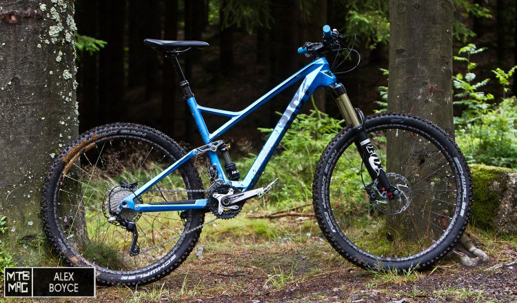 The RIOT range of bikes from Ghost introduce a clever new link to the rear suspension that works.