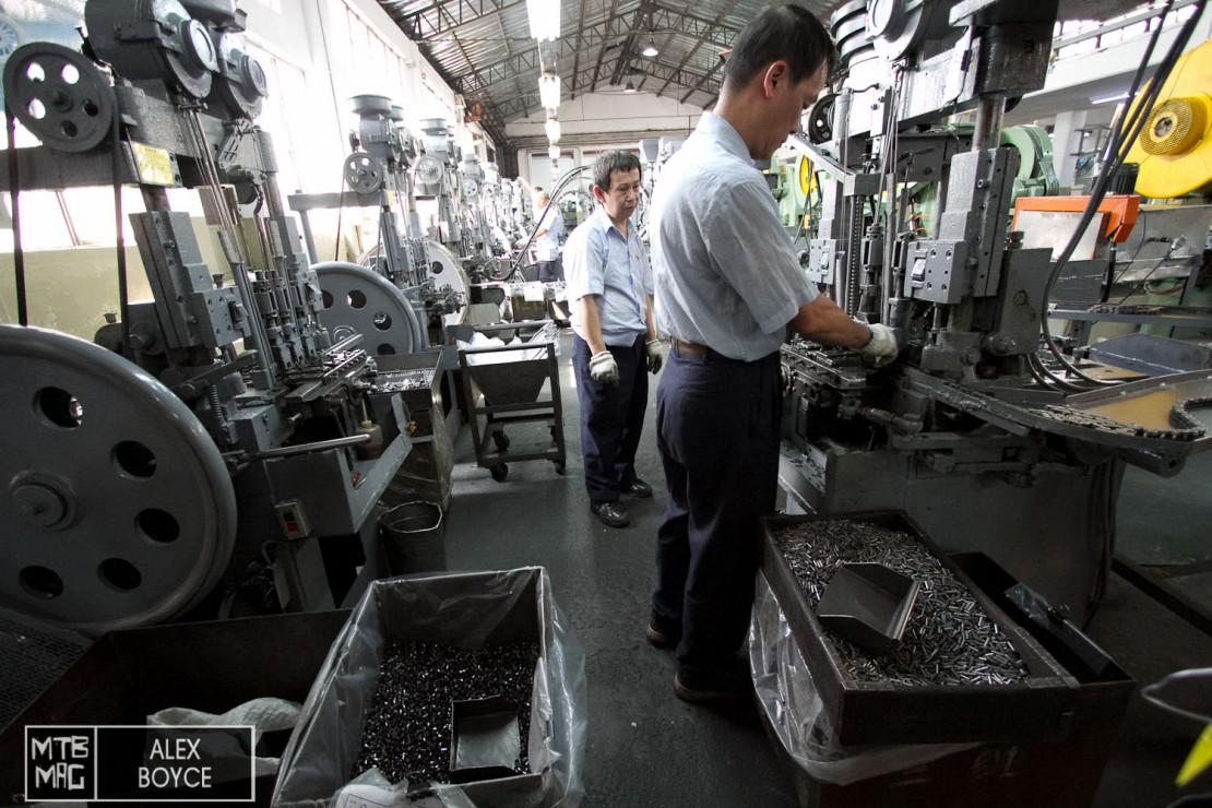 More chain machines.