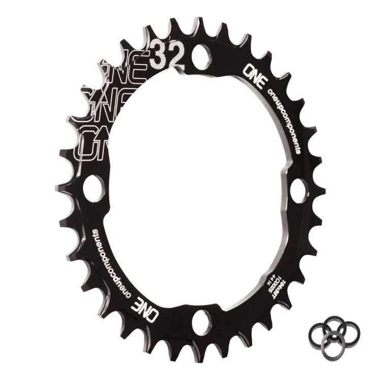 OneUp-Components-32T-104BCD-Narrow-Wide-Chainring-Black-Iso