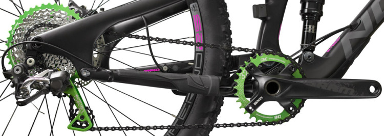 OneUp-Components-32T-104BCD-Narrow-Wide-Chainring-Green-Front-Norco-Sight-Front-2