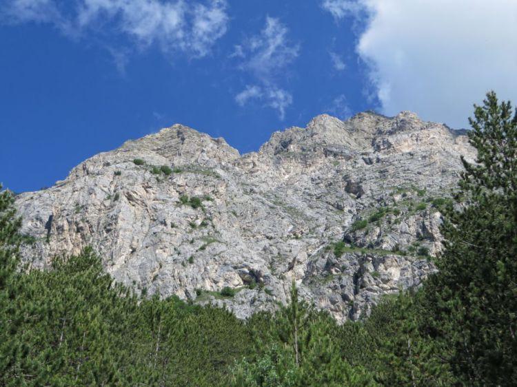 il versante sud/est del Vettore