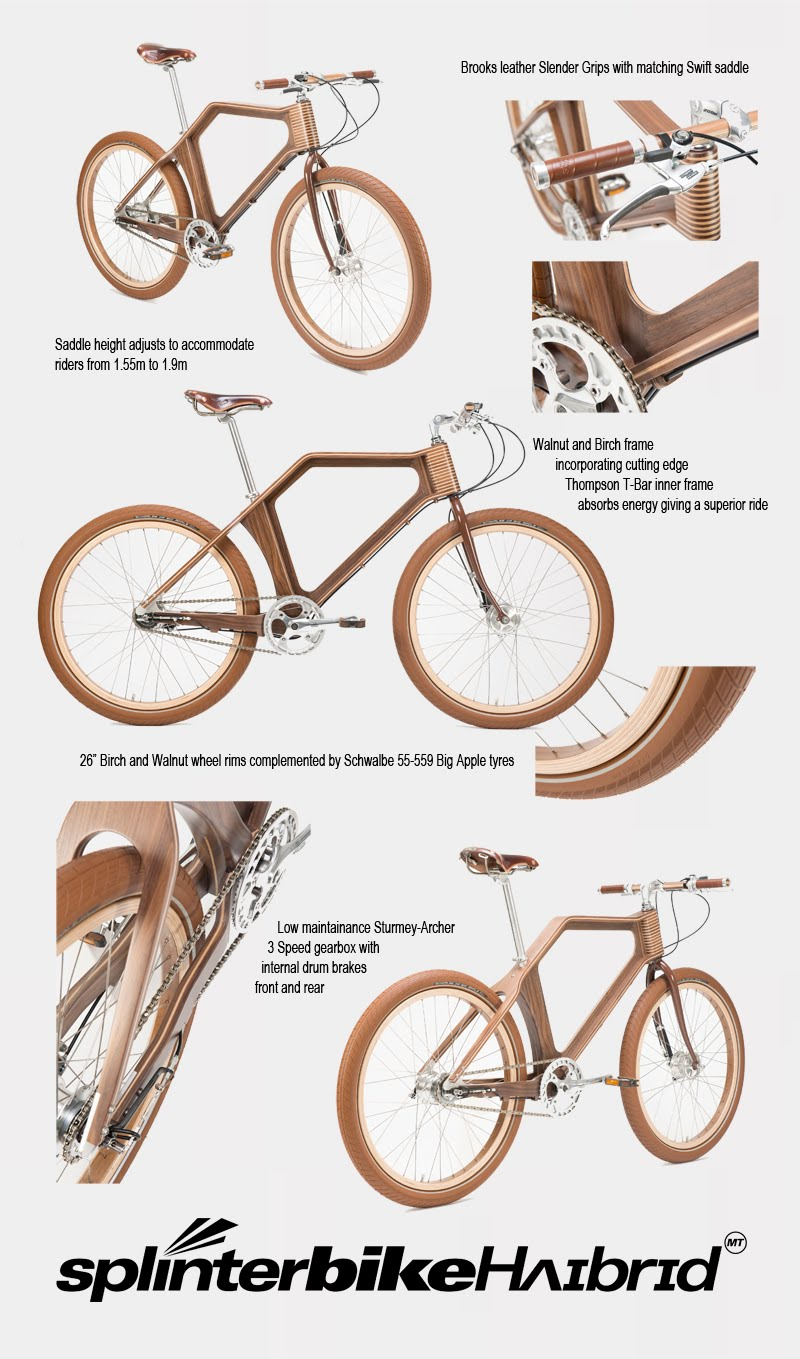 Video] The Making Of The Wooden Bike   MTB-MAG.COM