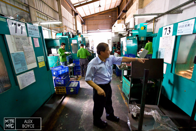 Wellgo in Taiwan has owners that care about their workers and are also focused on quality.