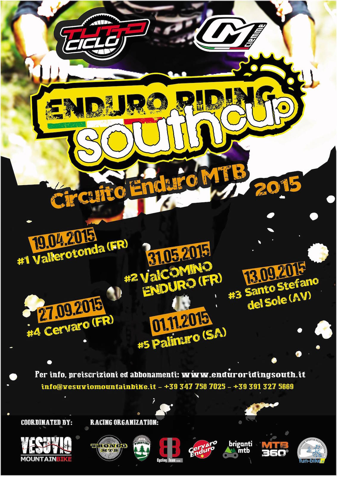 Enduro Riding South Cup locandina