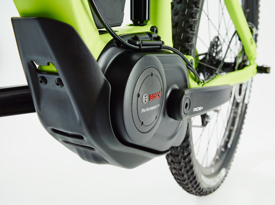 The p400 Bosch motor is focused on smooth power.