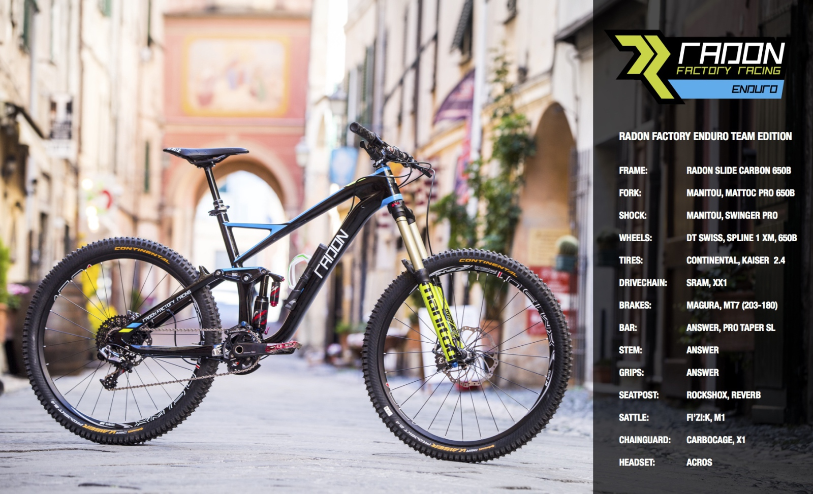D - Radon Slide Carbon 650B Team