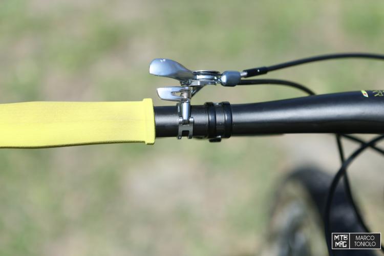 Twin Lock per regolare sia la forcella che l'ammortizzatore.