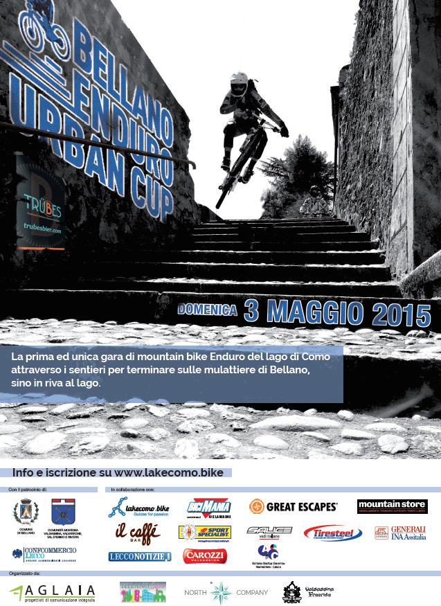 Locandina Bellano Enduro Urban Cup