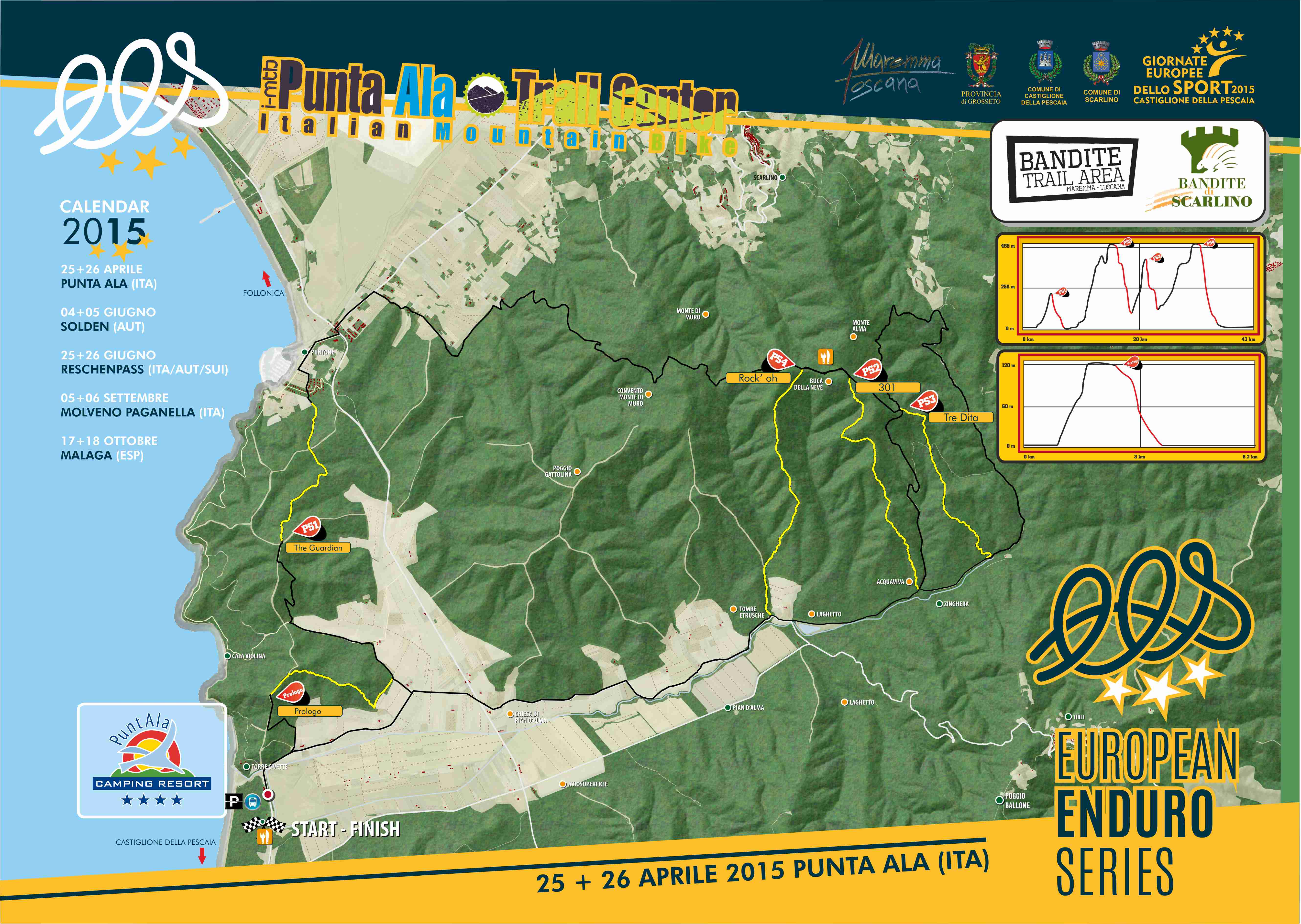 cartina evento f