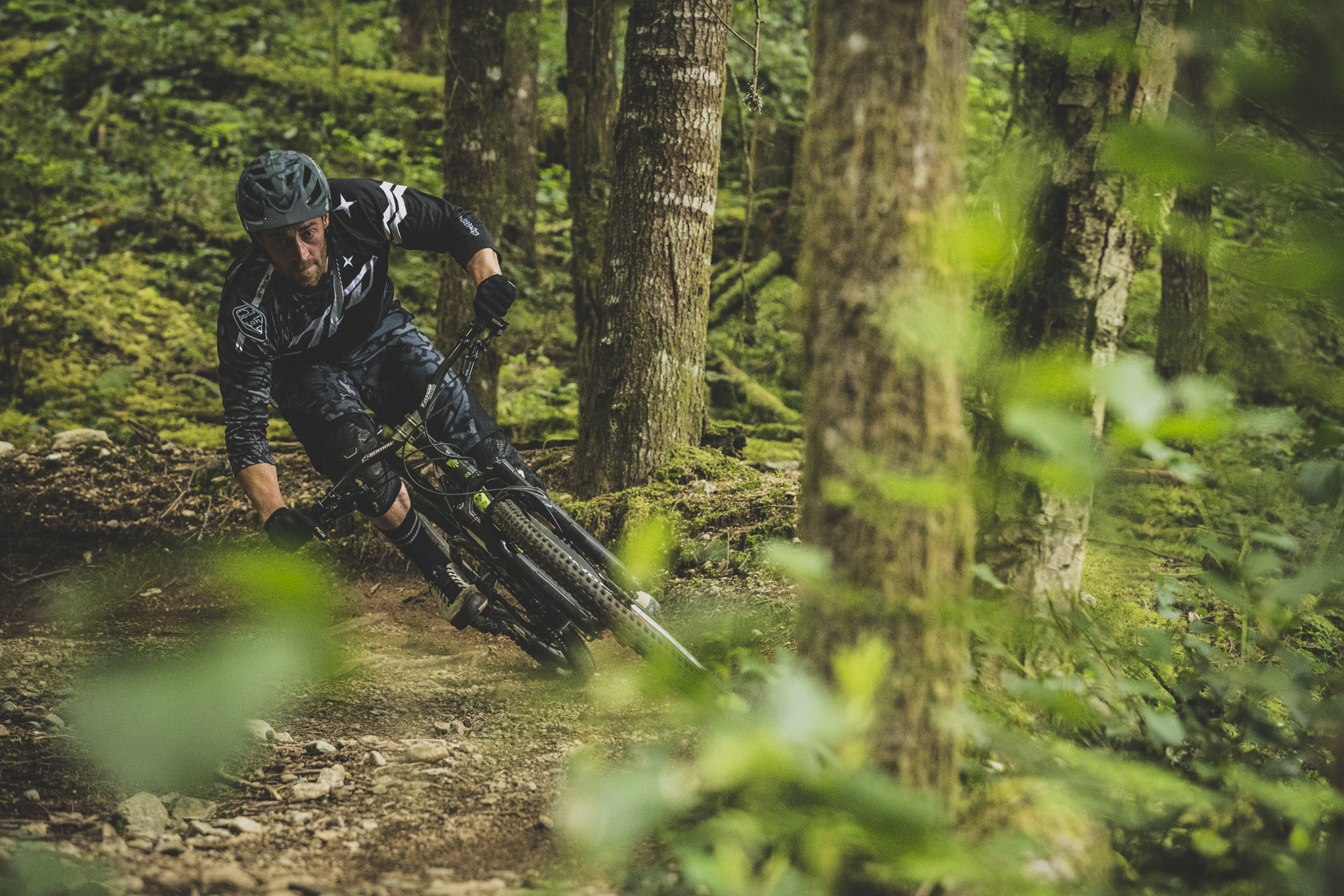 Kicking things off on a big ride in Squamish.