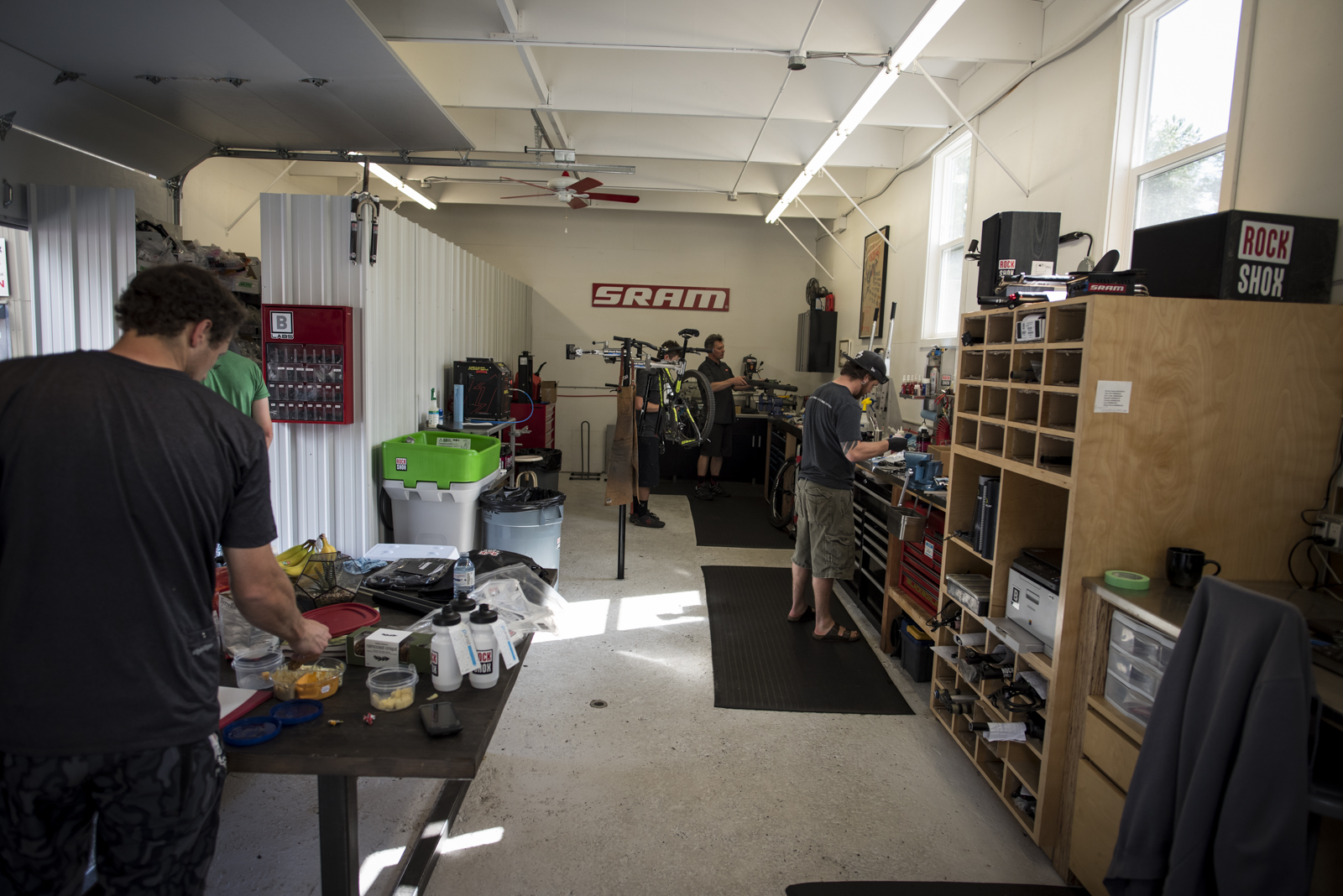 SRAM's latest facility in Squamish.
