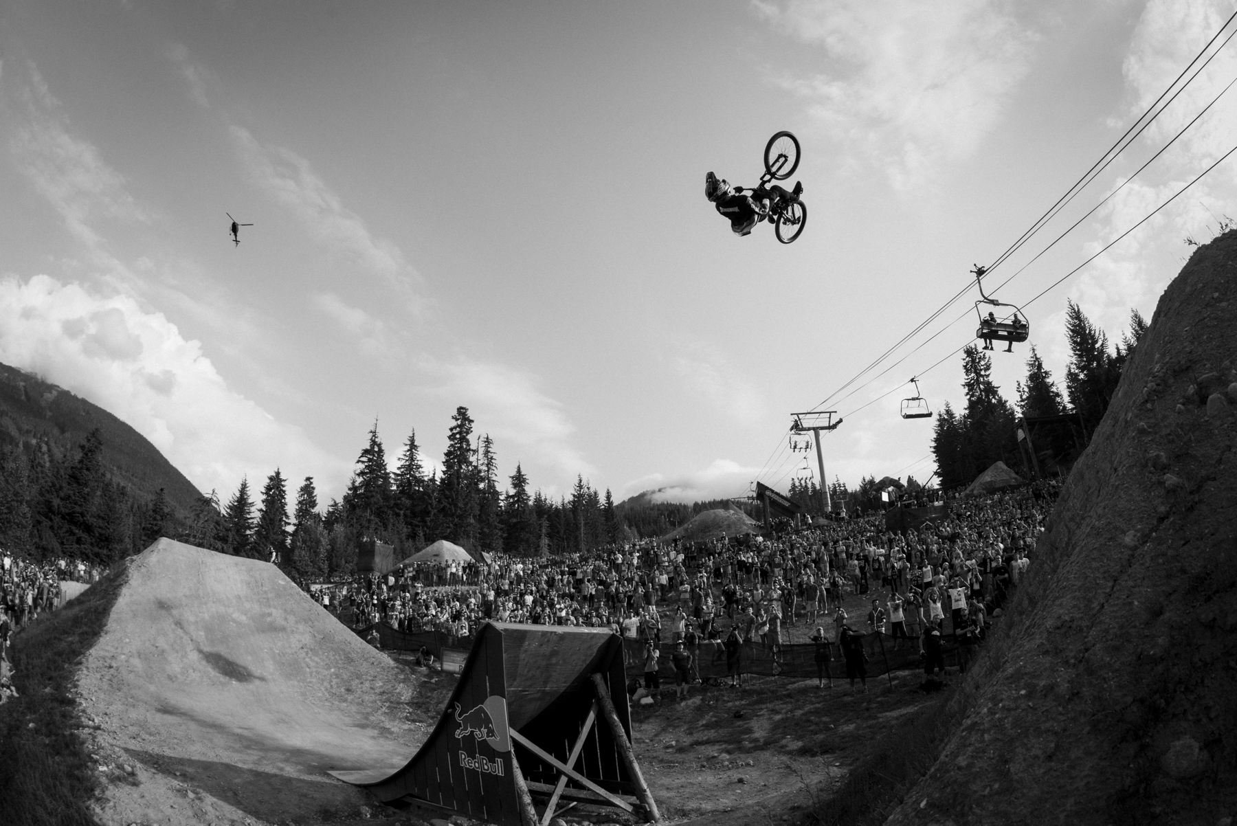 Winning Joyride for the 3rd time.  Whistler, BC 2014