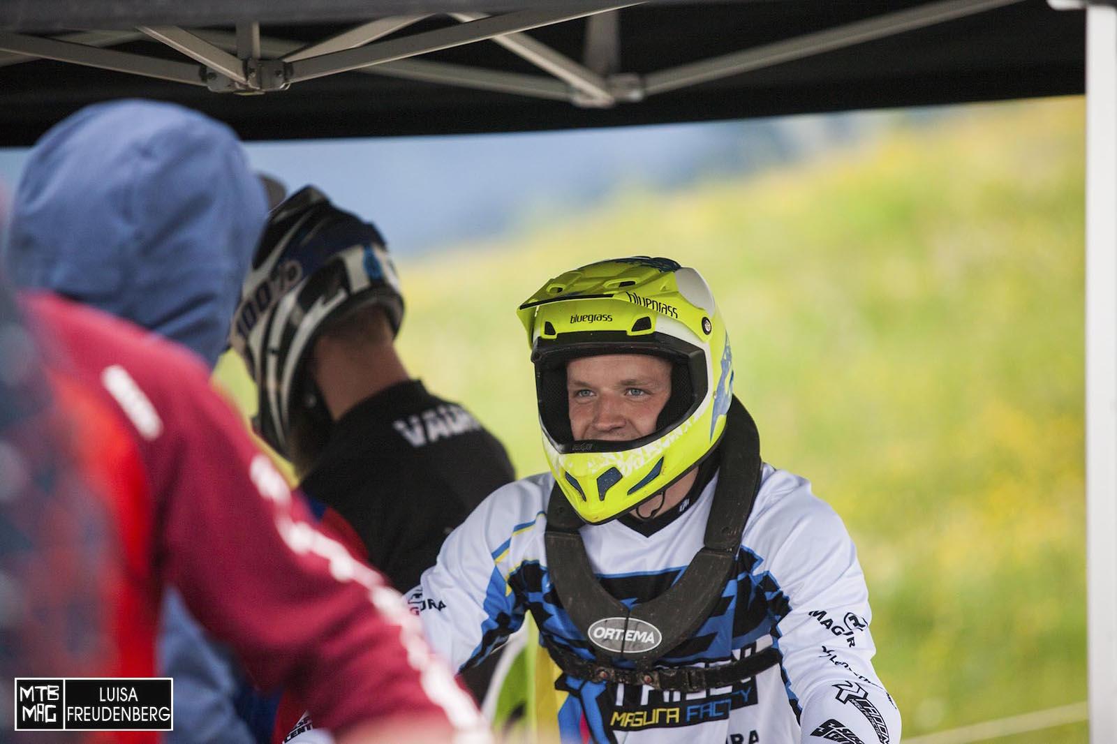 Benny Strasser beendet das Rennen als schnellster Deutscher auf Rang 55