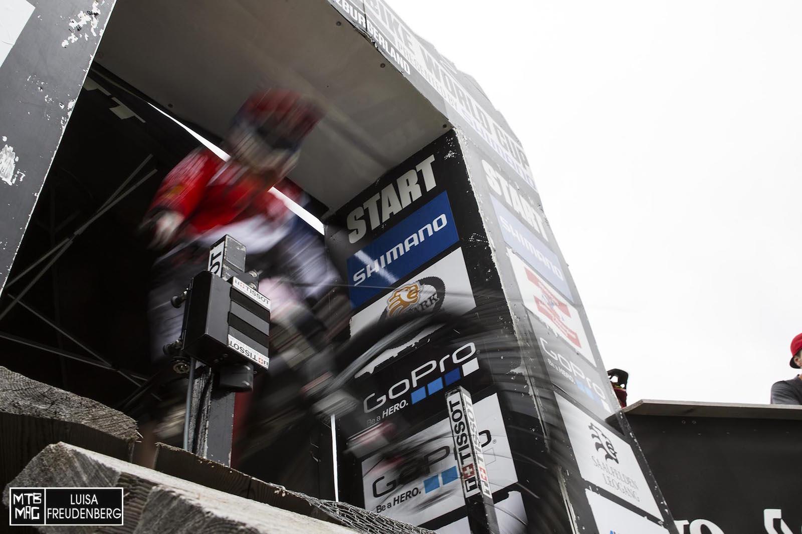It's Raceday! DIe Zeit tickt.