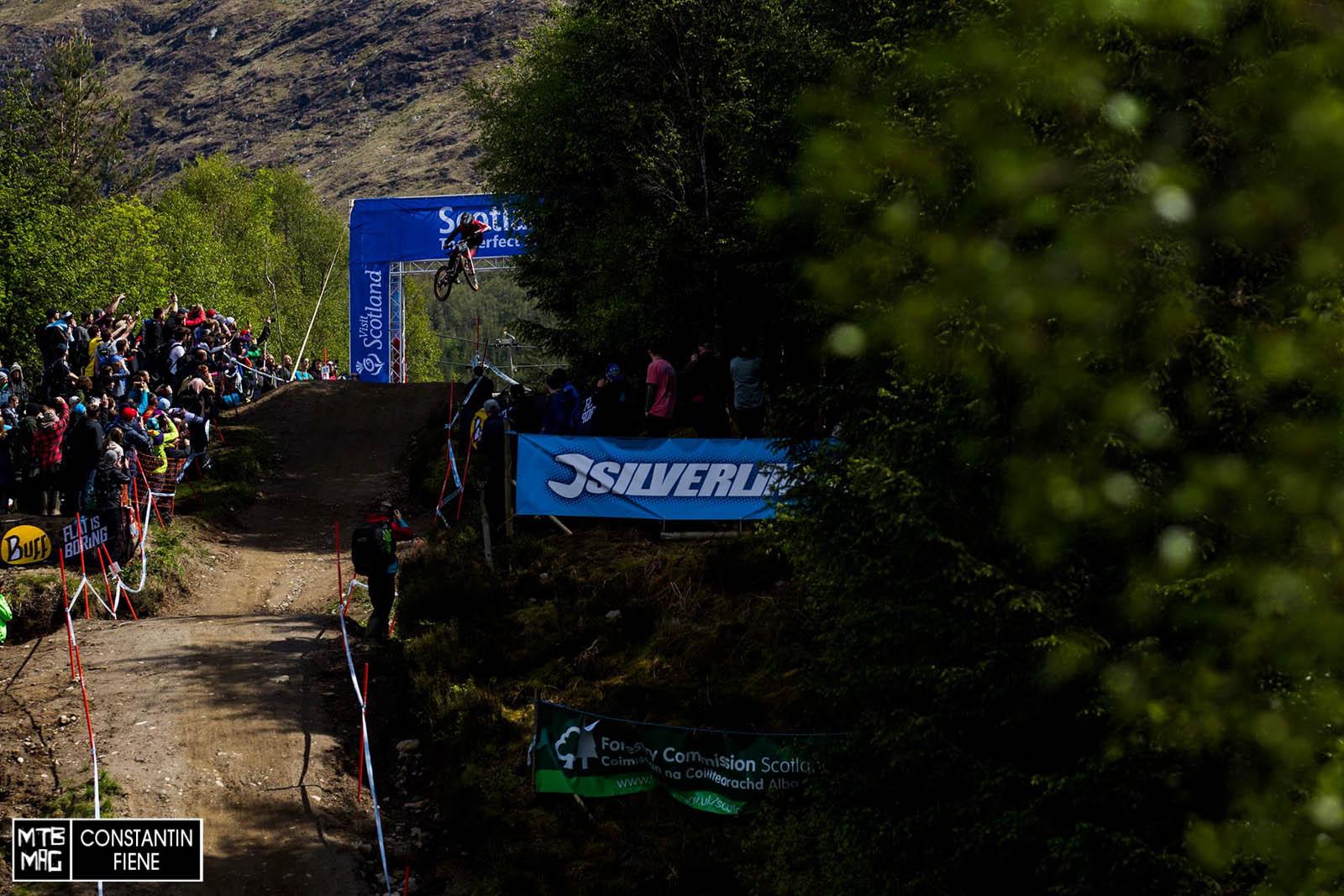 Pechvogel und Sturzexperte Josh Bryclenad landete heute auf dem 31. Platz.