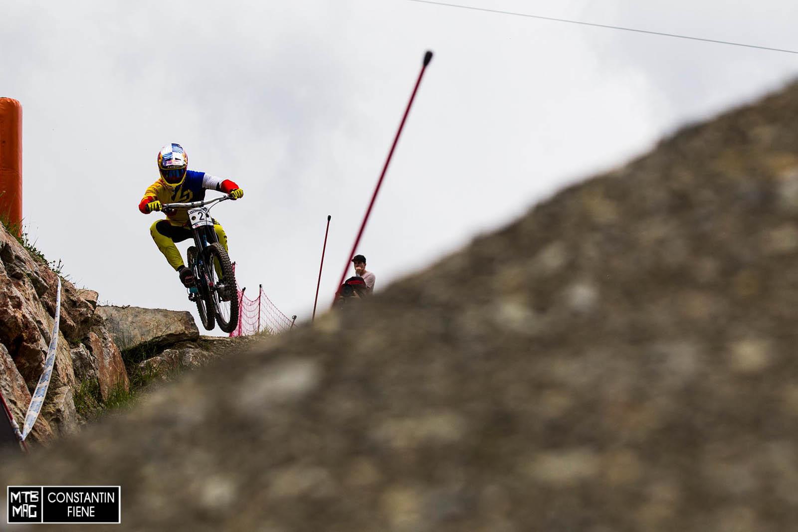 Loic Bruni stürzte heute in der Qualifikation- wird aber morgen dennoch zu sehen sein.