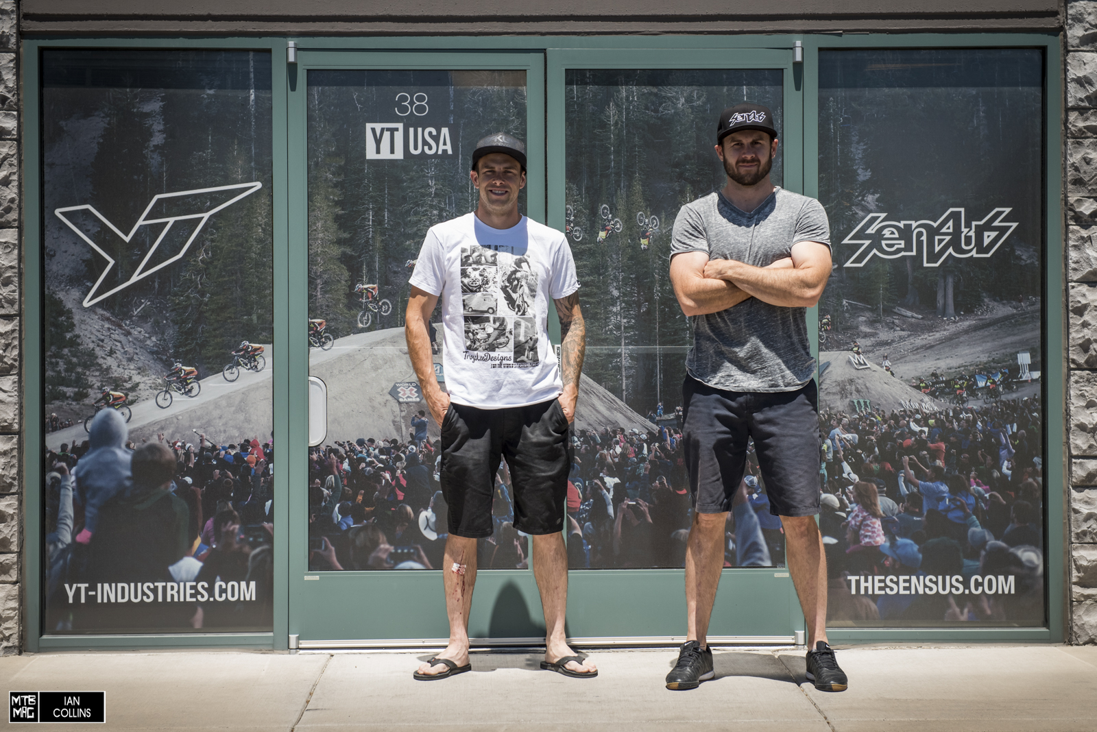 Welcome to Reno!  Take a look inside YT Industries USA and Sensus Grips with Cam and Howie Zink