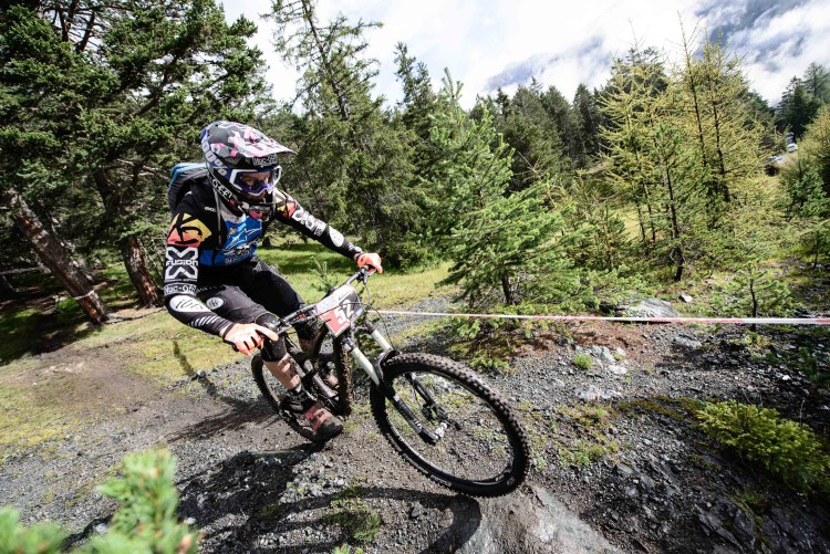 DUCCI, Manuel races the European Enduro Series Round 4 in Nauders, Austria, on August 24, 2014. Free image for editorial usage only: Photo by Felix Schüller.