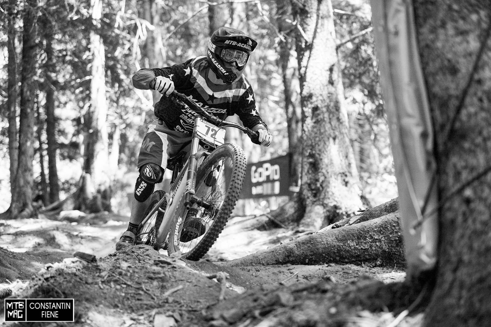 Jasper Jauch in the wood section