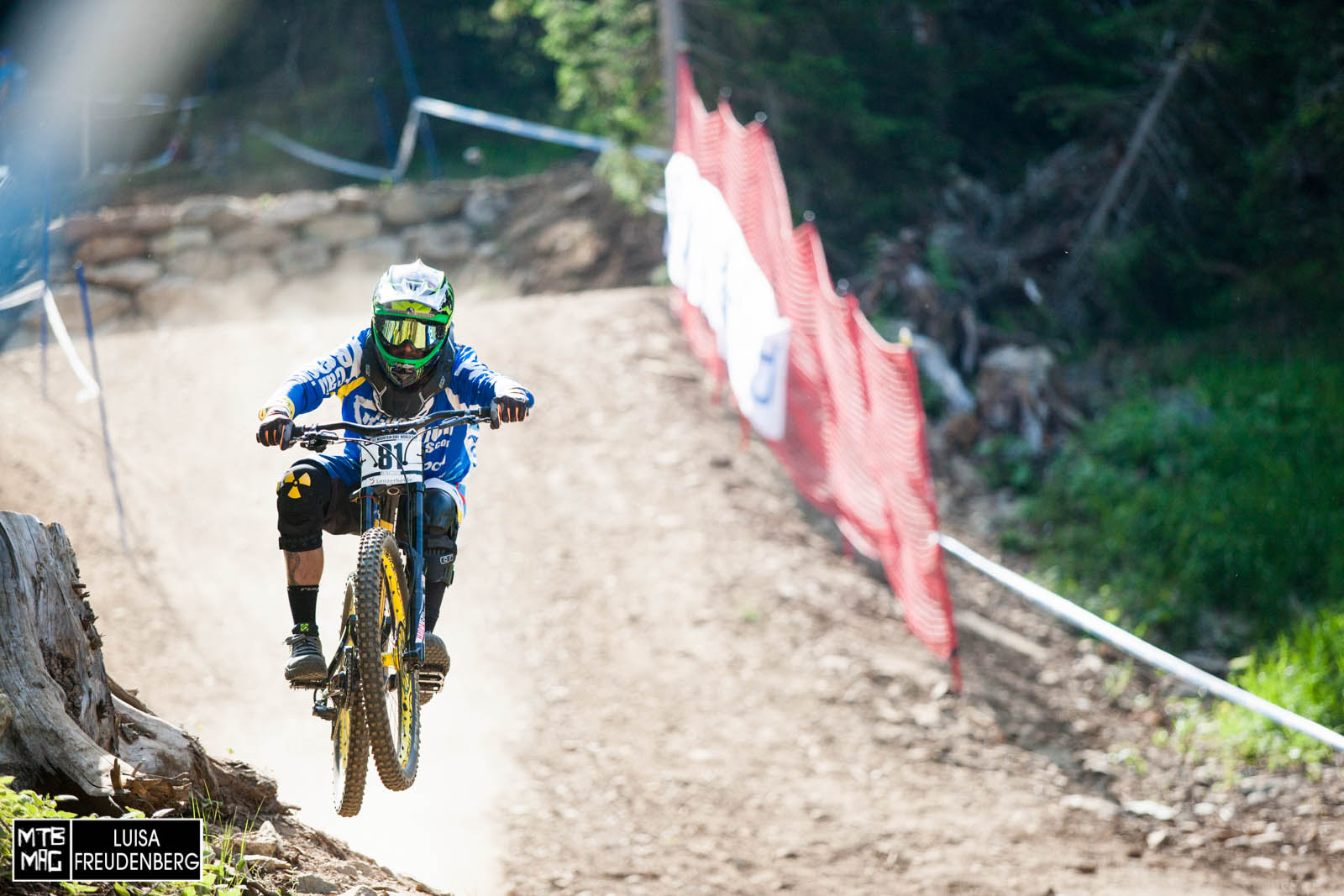 Classic Sam Hill.  Always carrying incredible form.