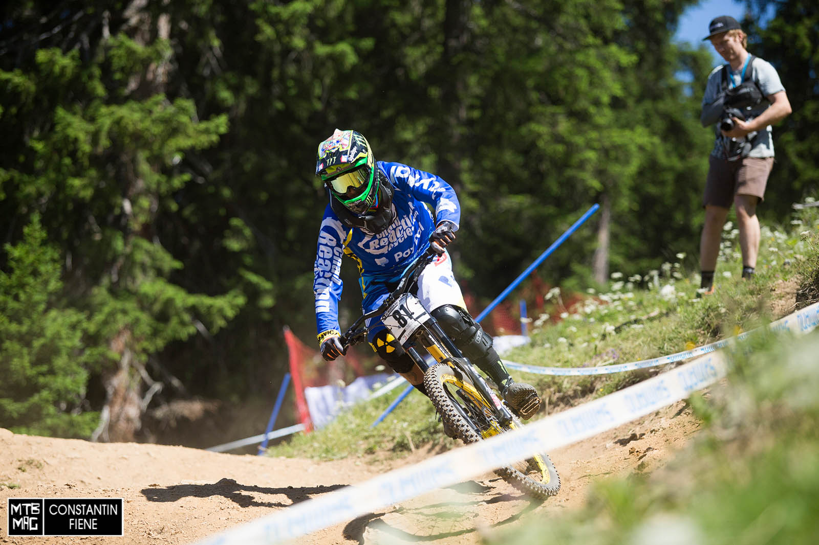 Sam Hill's back!  Best news we've had all year.