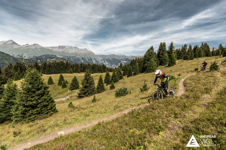 The 3rd stop of the European Enduro Series at Reschenpass, Austria, on July 26, 2015. Free image for editorial usage only: Photo by Andreas Vigl