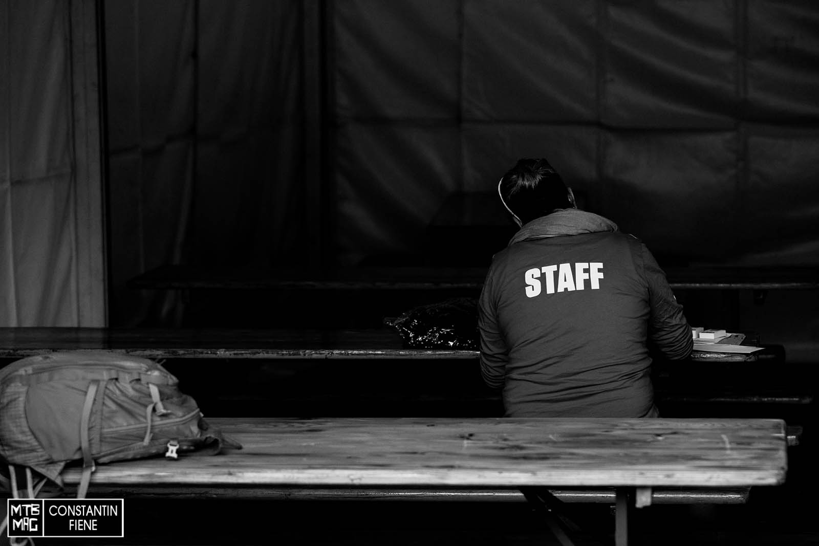 Staff. Es gibt immer was zu tun.