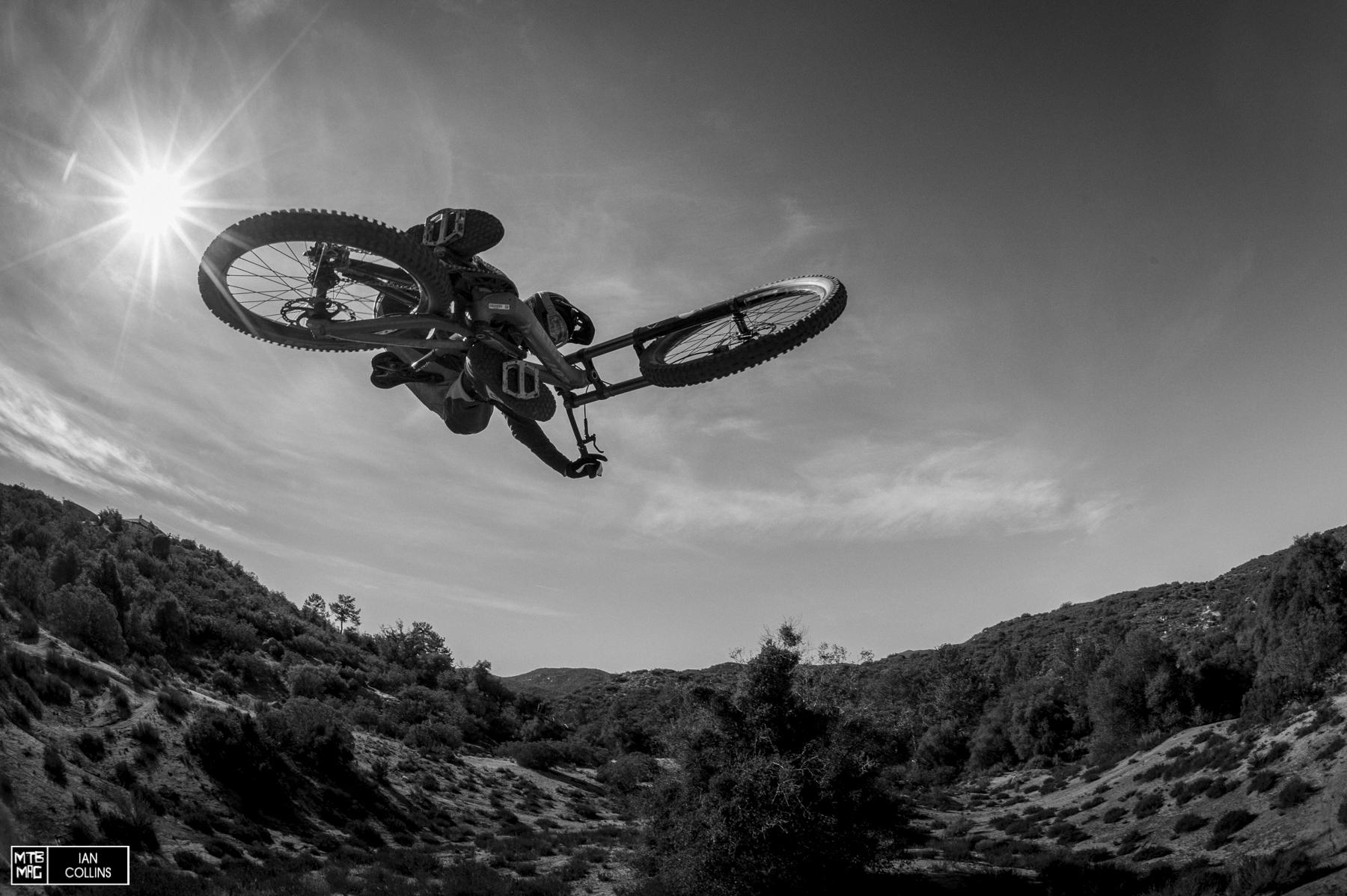 Blasting with Brandon Semenuk and Nico Vink.   So moto.  Pine Valley, 2014
