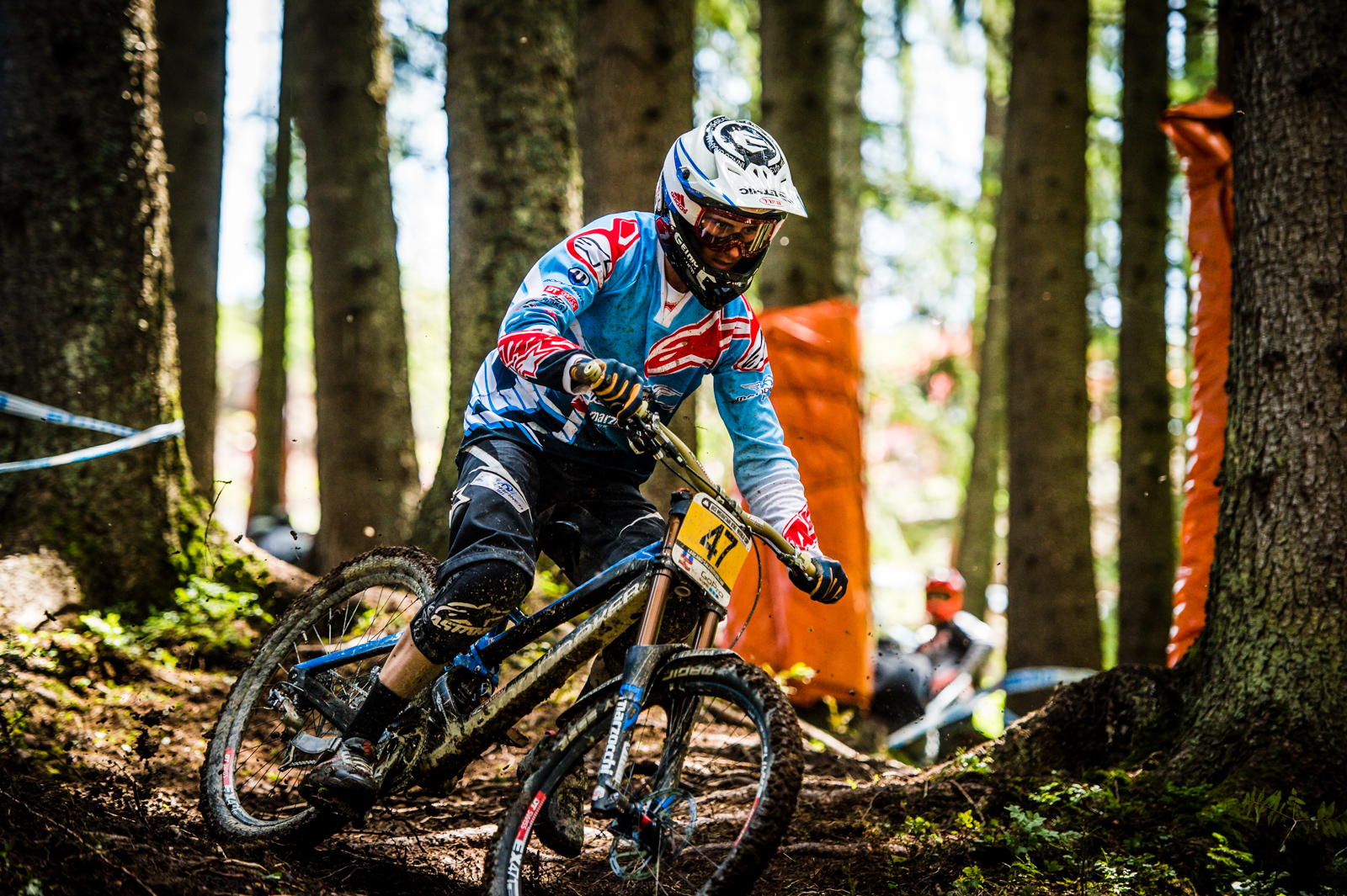 The sketchy woods ruined Innes' chances of a top result in Austria,but he was still the talk of the town, looking wild in plenty of sections.