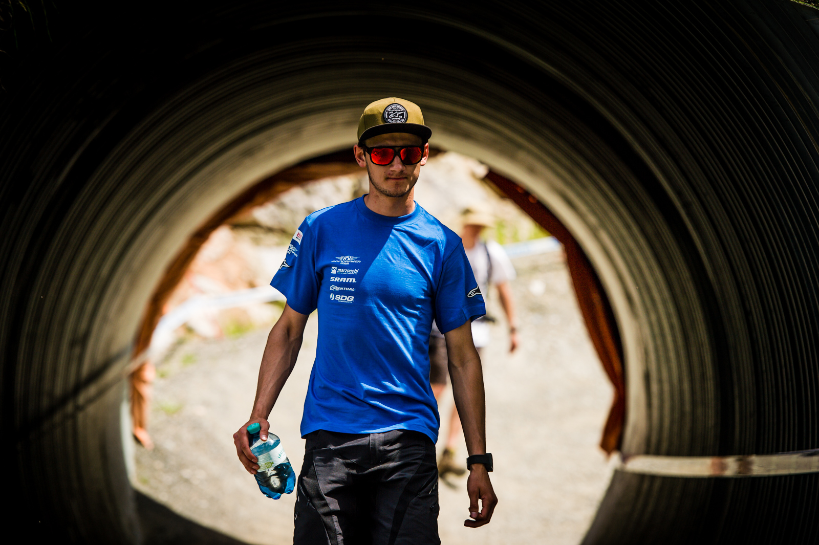 Innes will be out with a shoulder injury following Lenzerheide, but see light at the end of the tunnel.