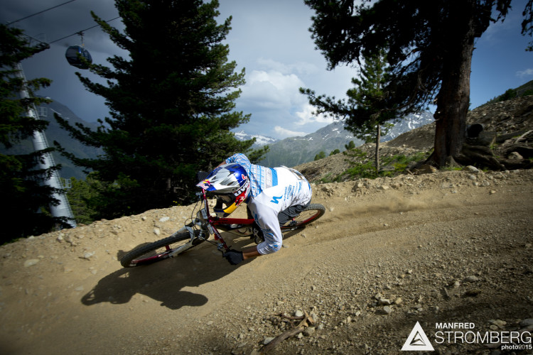 Michal Prokop races the prologue of the 2nd EES in Sšlden Tyrol, Austria, on July 4, 2015.ÊFree image for editorial usage only: Photo by Manfred Stromberg
