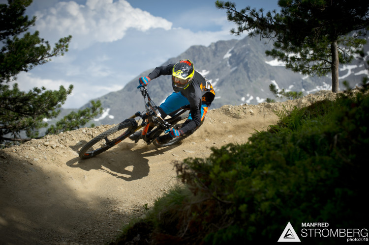 Daniel Schemmel races the prologue of the 2nd EES in Sölden Tyrol, Austria, on July 4, 2015.Free image for editorial usage only: Photo by Manfred Stromberg