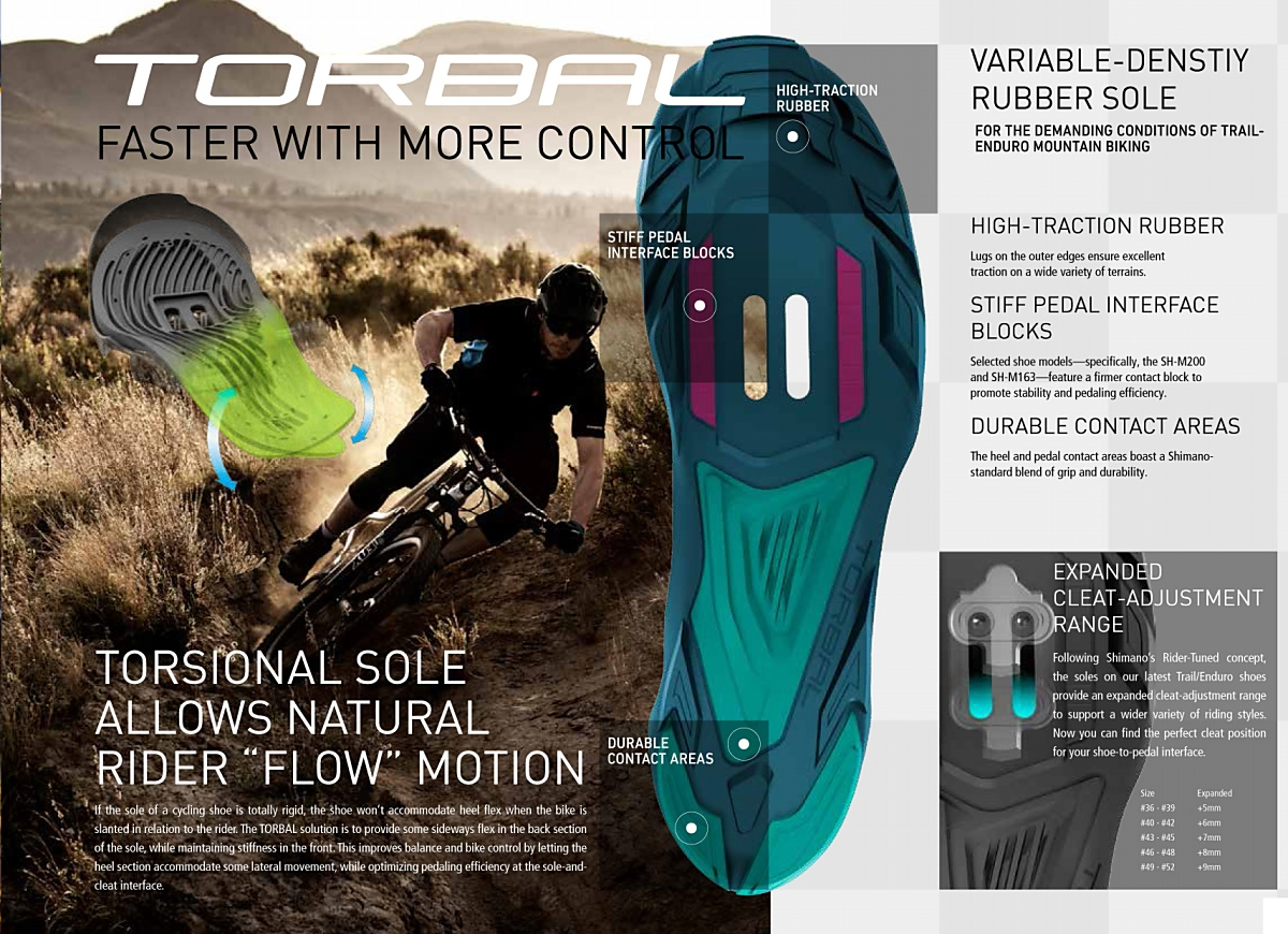 Shimano Torbal control technology