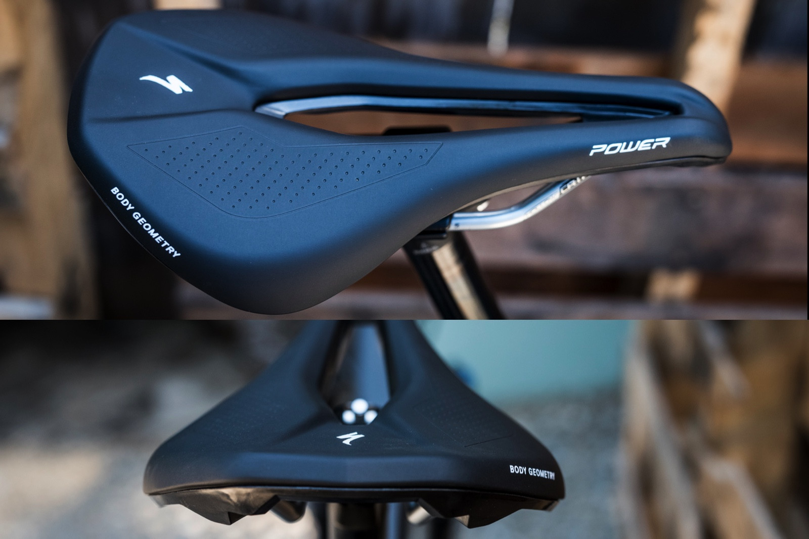 Specialized has a very different take on saddles these days.  The Power Comp.  Shorter and wider with a great deal of relief in the center.  First impressions are amazing.