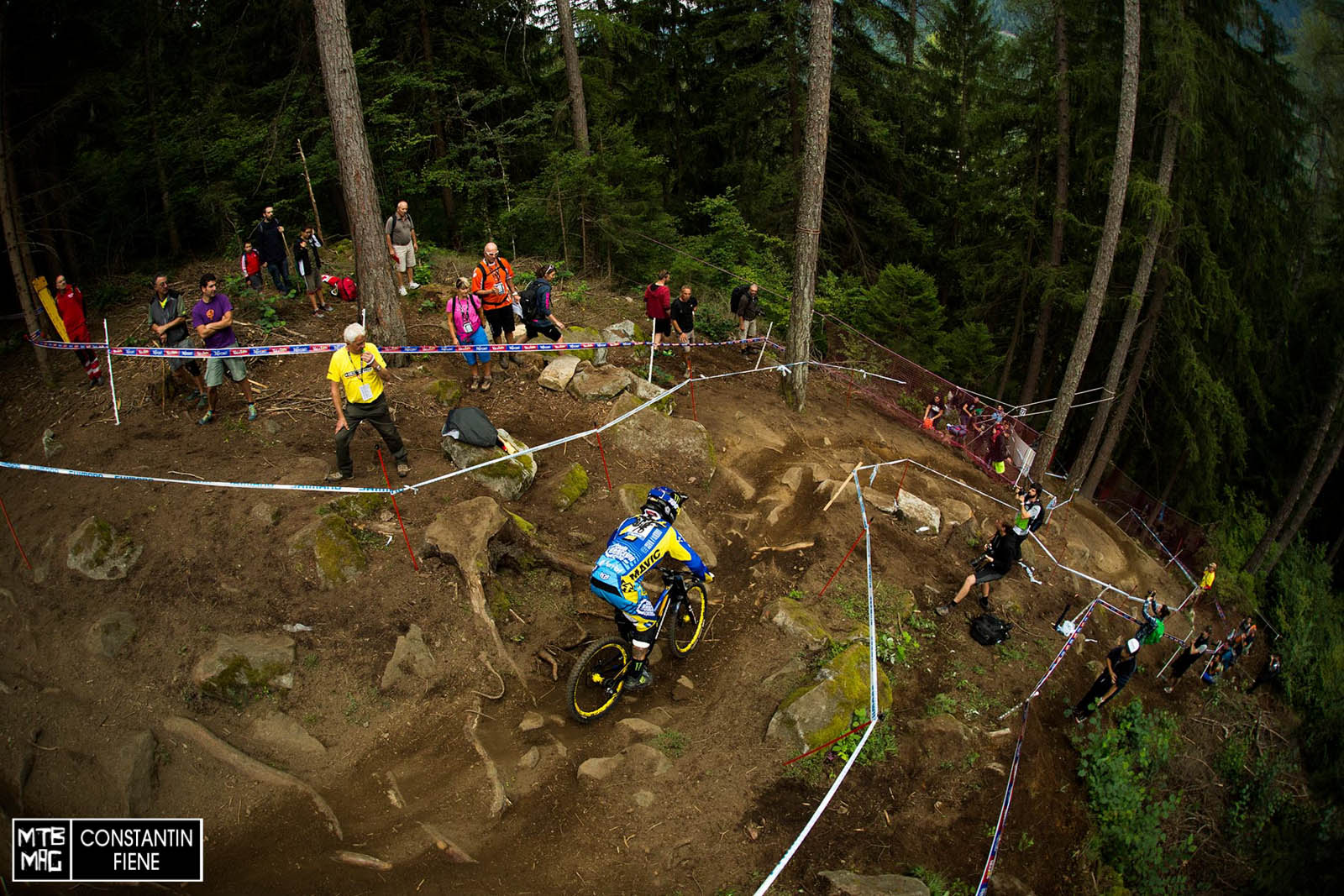 Sam Hill - clearly the gnarliest run ever at VDS goes to him in 08.