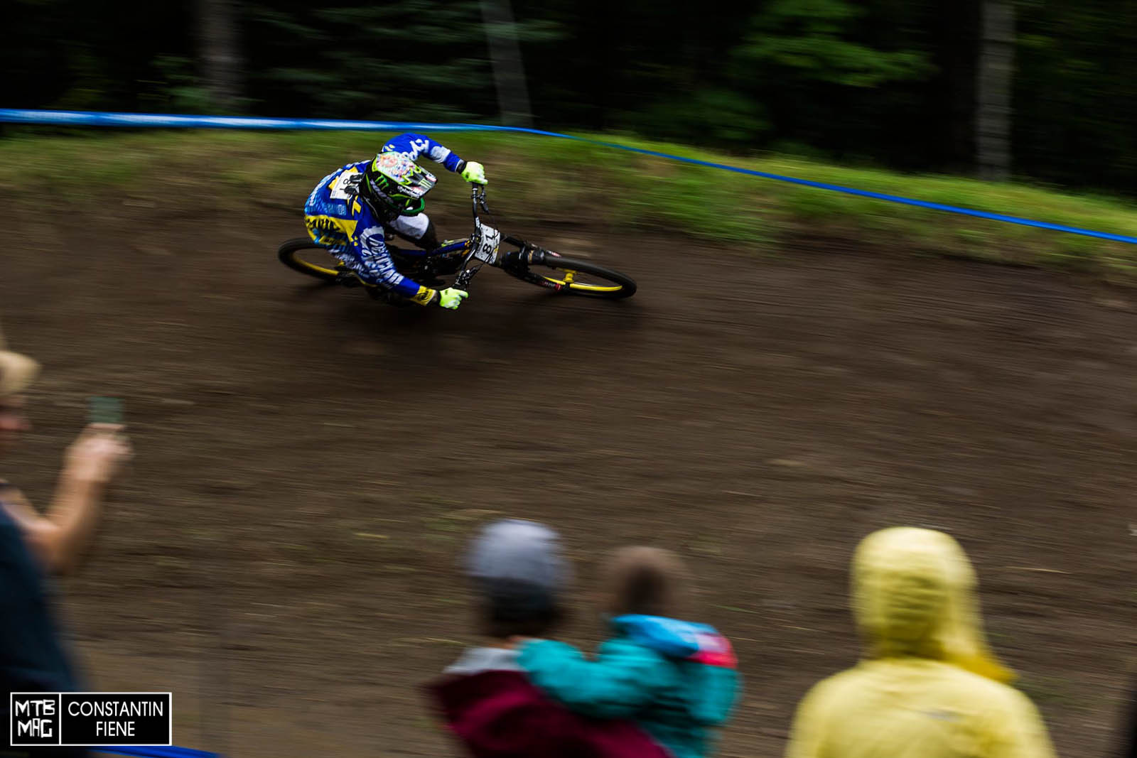Sam Hill taking it easy and finding his pace.