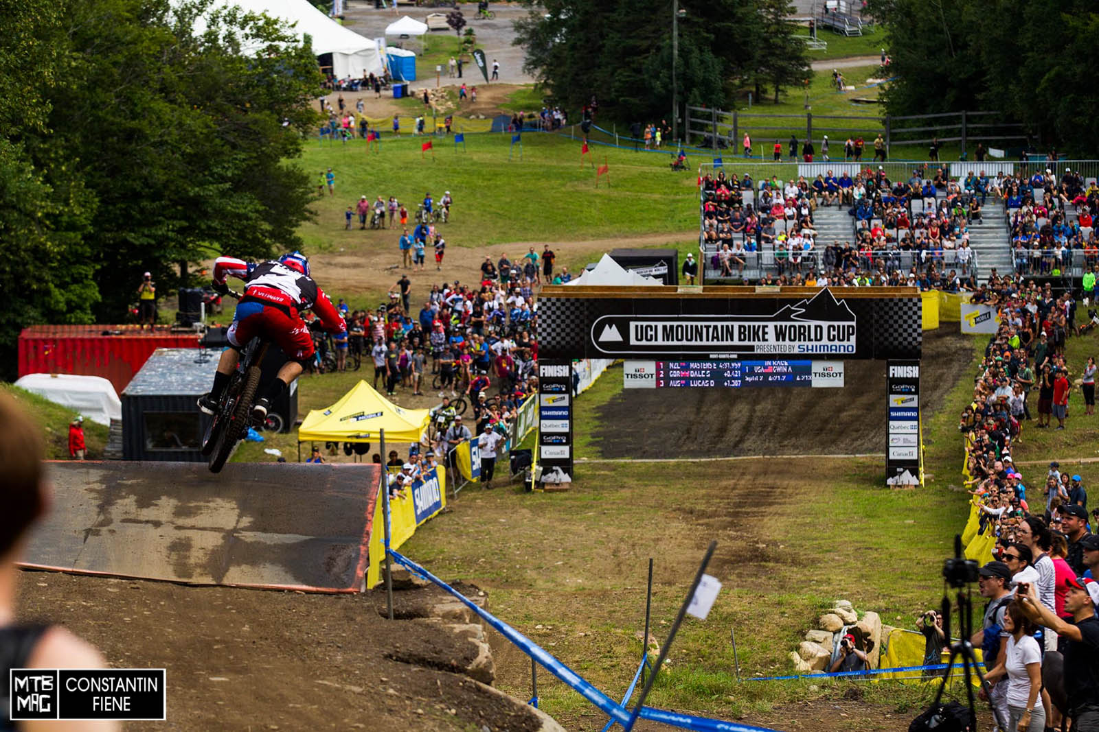 Aaron Gwin - Until Loic came down, it looked like he could've had a winning run.